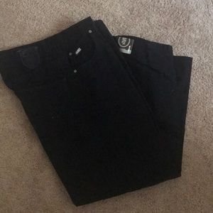 Mecca Men's Black Jeans